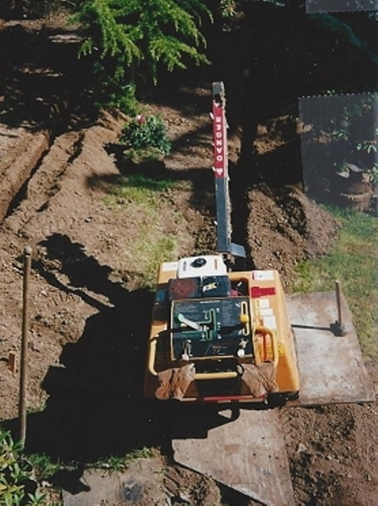 DIYwallFix Concrete Retaining Wall Restoration Process